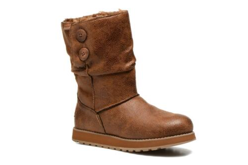 Womens Skechers Keepsakes Leatheresque BOOTS in Chestnut From Get The Label  UK 7 48367ache130