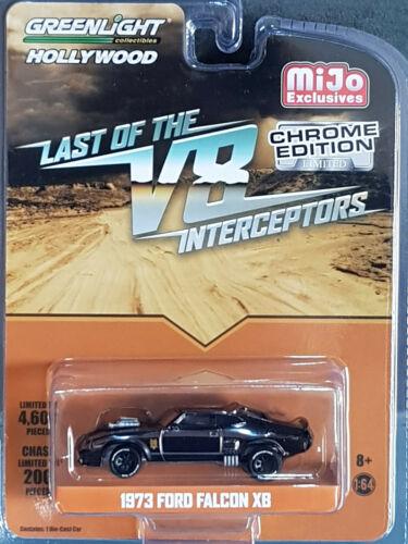 11099 l51229 GreenLight mijo Exclusive 1973 Ford Falcon xb Chrome Edition