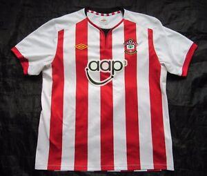 fc3e7c7931b Saints SOUTHAMPTON FC home jersey shirt UMBRO 2011-2012 /adult SIZE ...