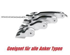 Ankerrolle 10kg Anker Bugrolle Anker Bugspriet Bug Stopper Boot Edelstahl Bootsteile & Zubehör Anker & Ketten