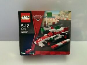 NEW Lego 9478 Disney Cars Francesco Bernoulli