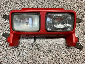 HONDA-ATC350X-ATC-350X-HEADLIGHT-HEAD-LIGHT-PLASTIC-SHROUD-HOUSING-LIGHTS-85-86