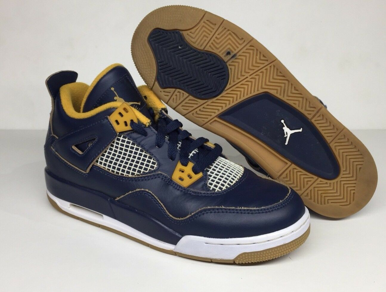 2016 Nike Air Jordan 4 IV Retro GS Dunk From Above Navy Comfortable Cheap women's shoes women's shoes