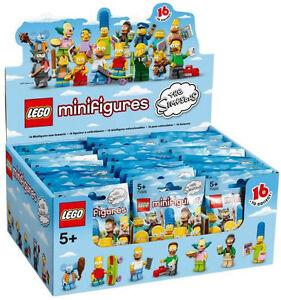 boite lego simpson 6059279 neuve scelle , 60 sachets 71005 neuf new