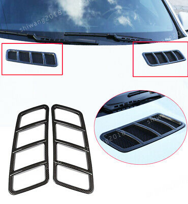 ABS Chrome Hood Bonnet Scoop Covers Frames for 13 Mercedes-Benz GLE ML GL GLS
