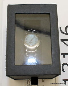 NIB-RARE-2004-Caterpillar-Stainless-Steel-Water-Res-50-MTRS-Women-039-s-Watch