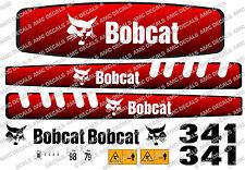 BOBCAT 341 Mini Escavatore decalcomania Set