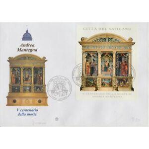 2006-FDC-Filagrano-Vatican-Mantegna-1-Bf-Su-Envelope-MF74484