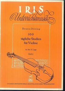 Bruno-Doering-100-taegliche-Studien-fuer-Violine-in-der-3-Lage-Heft-2