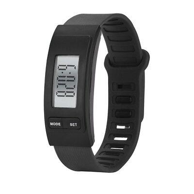 Women Men Activity Tracker Watch Bracelet Pedometer Digital LCD Sports Watches