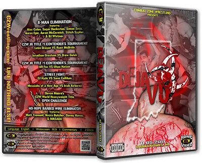 CZW Wrestling: Deja Vu 6 DVD, DJ Hyde Sami Callihan MASADA Necro
