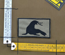 "Ricamata / Embroidered Patch Devgru ""Seal"" with VELCRO® brand hook"