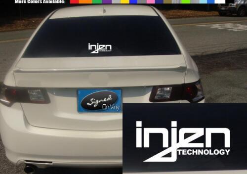 """6/"""" Injen decal vinyl sticker exhaust air filter intake drift race car laptop 2"""