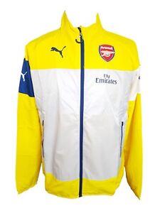 Details zu Puma Arsenal FC Fly Emirates Leisure Men's Jacket, 746382 05, Medium