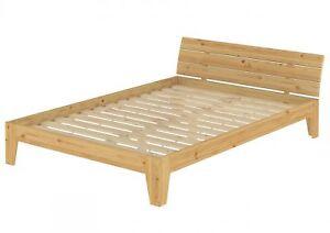 Letto Futon Matrimoniale : Letto doppio matrimoniale telaio legno massello futon