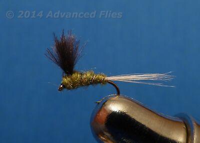 Umpqua Barr/'s Emerger BWO 2 Pack Blue Wing Olive Fly Fishing Flies