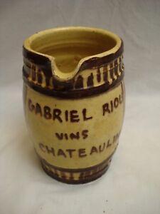 pichet ancien en grès émaillé Gabriel Riou- vins- Chateaulin - (réf V89) Z9iNYO0a-09095151-769454994