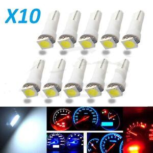 Lampadine-T5-LED-5050-1SMD-168-W3W-Cruscotto-contachilometri-Bianco-freddo