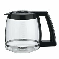 Cuisinart Dcc-2200rc 14-cup Replacement Glass Carafe, Black, New, Free Shipping on sale