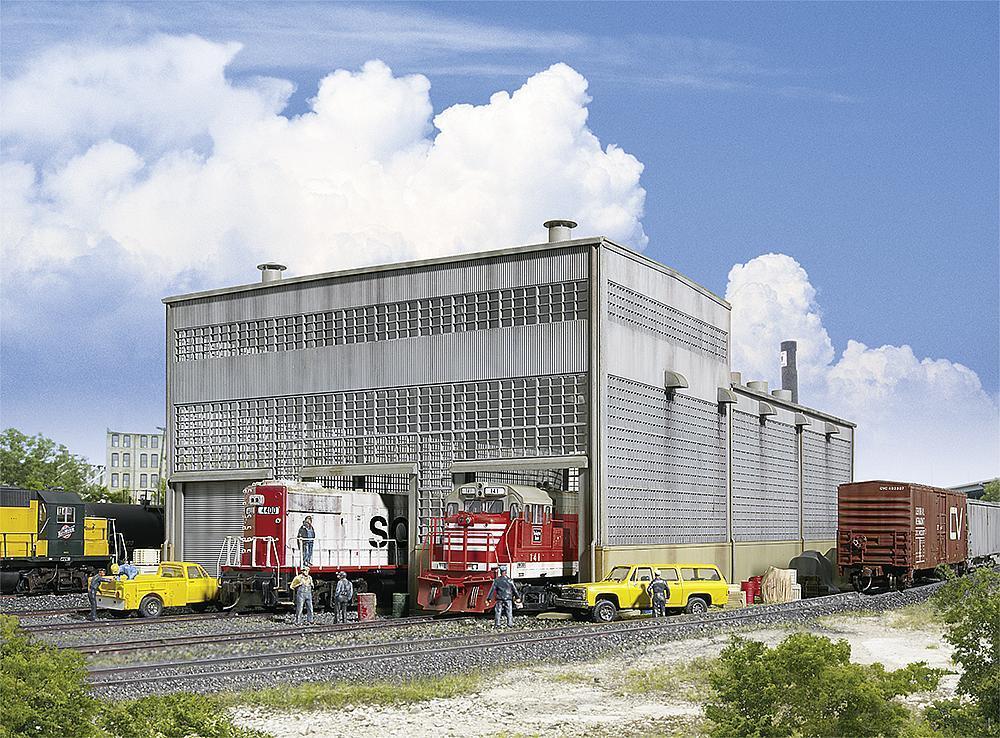 Walthers 532916 532916 532916 scala H0,Diesel - Officina Locomotiva,USA treno modello KIT 1:87 289377