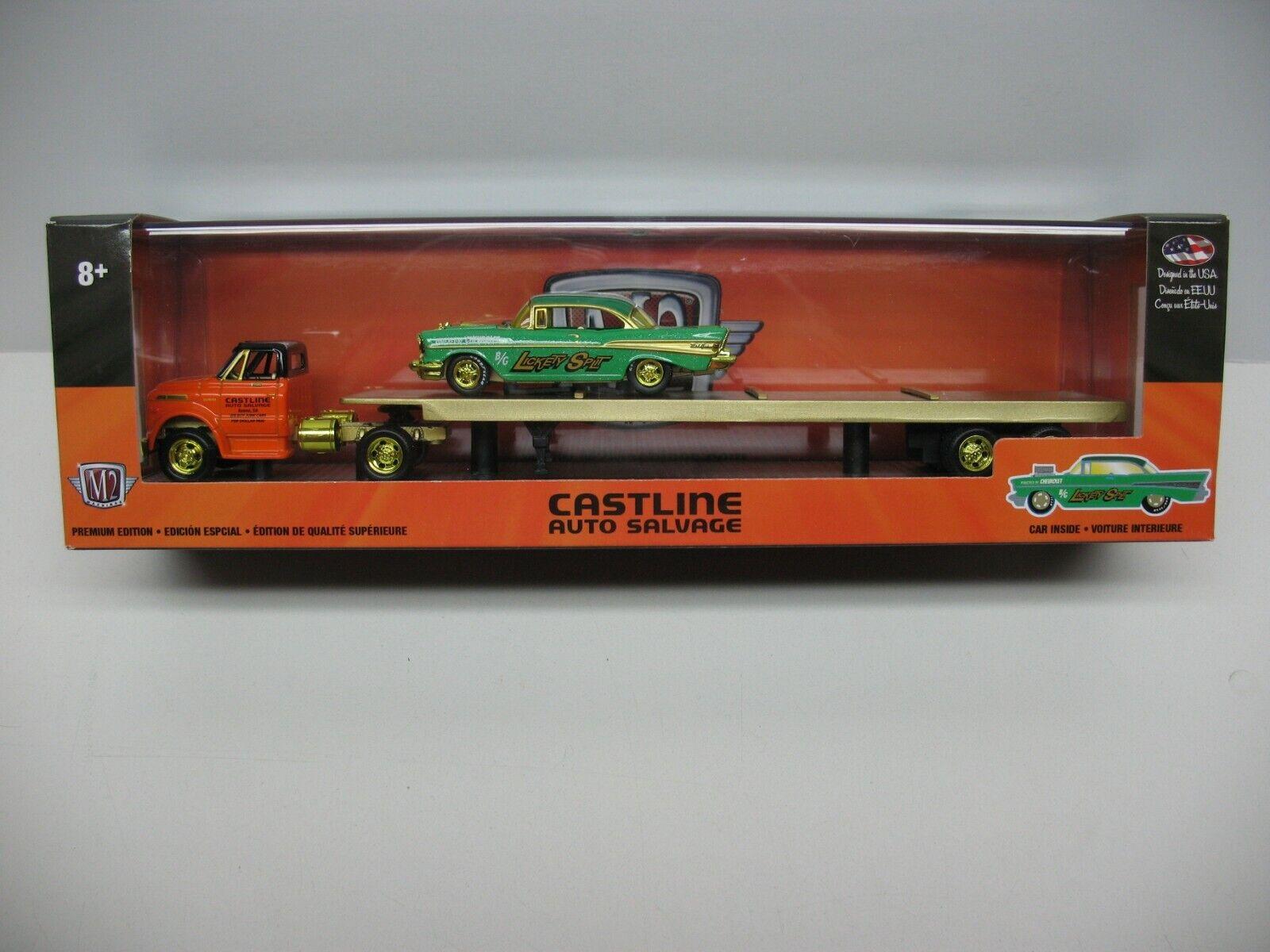 2019 M2 oro Chase 1971 Chevy C60 camión y 1957 Bel Air Auto perfiladoras R 33 1 750