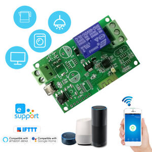 Details about SONOFF 5V/12V/220V WiFi Switch Relay Module Garage Door  Switch APP Control N4B0