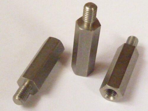 M8 SW13 15mm M8x15 Acciaio Inox Bullone Distanziatore Innen-Außen A2 1.4305