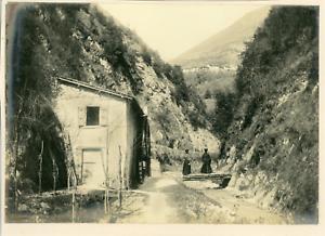 Italie-Bornico-Vintage-print-Tirage-argentique-11x16-Circa-1900