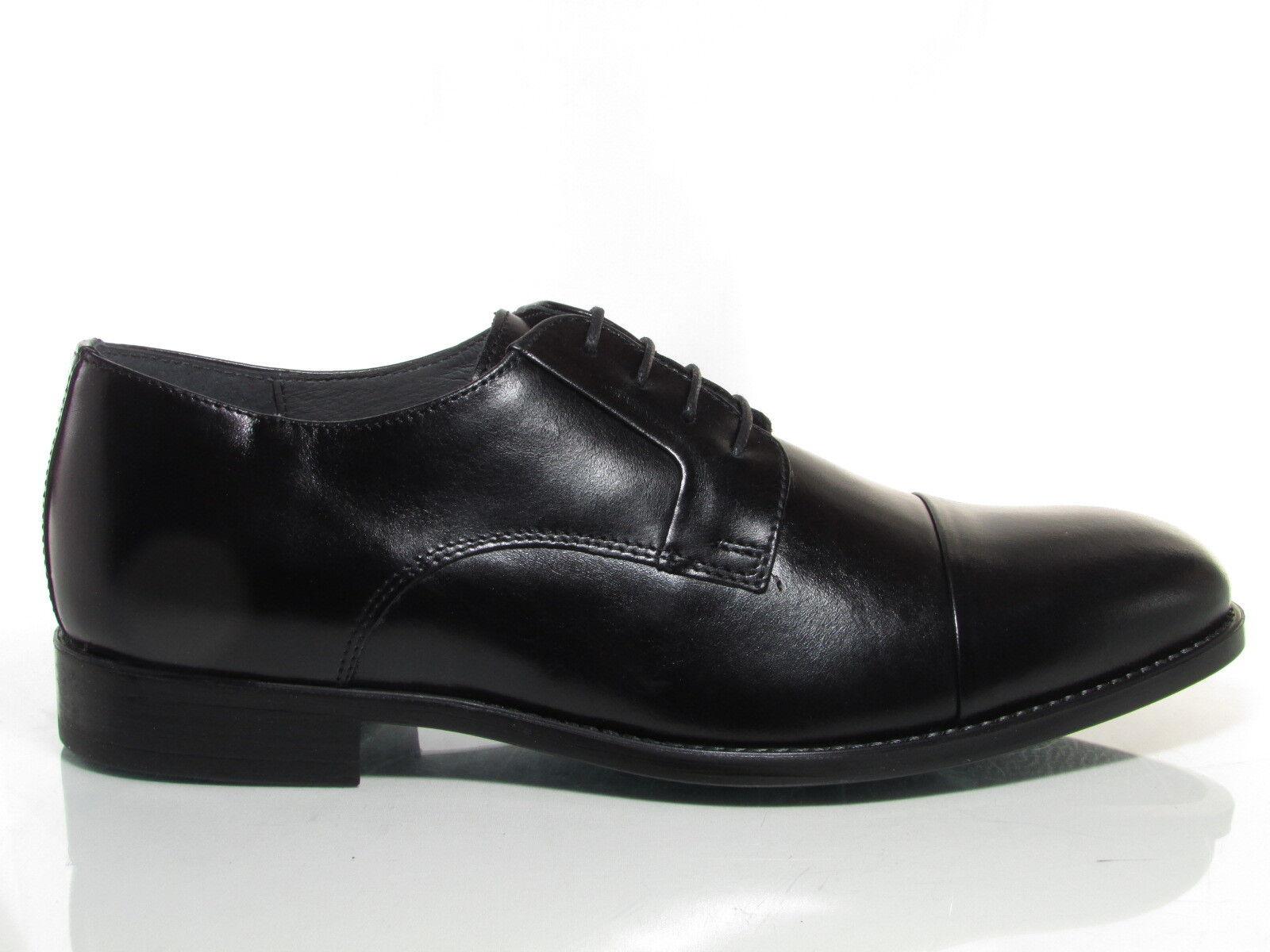 Valleverde 46802 scarpe uomo classiche francesina pelle nero Scarpe classiche da uomo