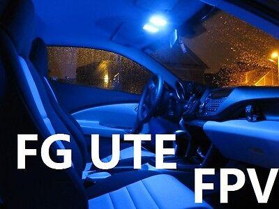 BLUE LED Interior Light Kit Fits Ford FG FPV Ute Falcon XR6 XR8