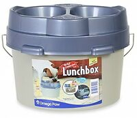 Top Dog Lunch Box Plastic 8.6 Liter Capacity With Carrying Handles