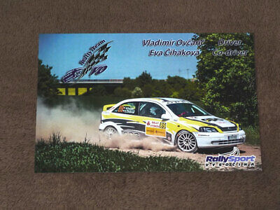 2019 Karte//card 10x15 cm Opel Astra OPC Vladimir OVCARIC -