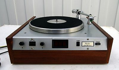 QRK GALAXY/Medalist Historic Ultra Rare Professional Studio Broadcast Turntable