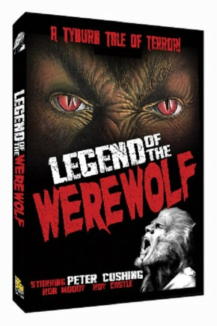 Legend of the Werewolf (DVD, 2017)-peter cushing-horror-circus-killer-scary