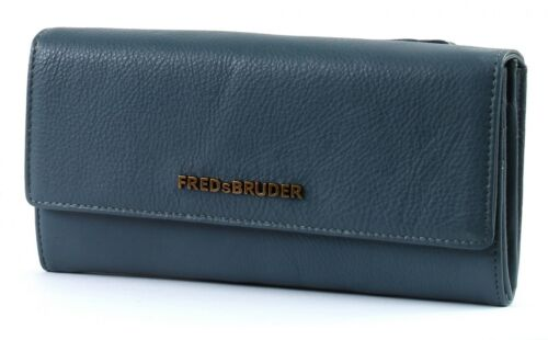 FREDsBRUDER Bourse Wallet Zappy II Blue Grey