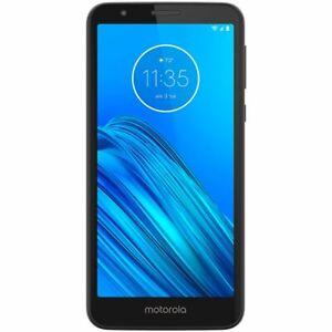 Motorola Moto E6 16GB Starry Black Unlocked 5.5 inch display XT2005-5 Smartphone