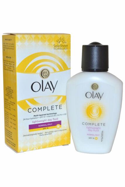 Olay Essentials Daily Fluid 100ml Normal/Oily Skin SPF15
