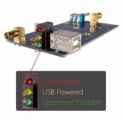 Ham It Up v1.3: RF Upconverter For SDRs and RTL-SDR; R820T RTL2832 HF Converter