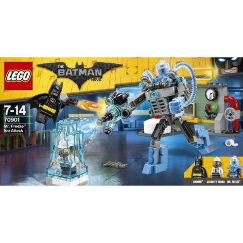 LEGO MR FREEZE ICE Attacco Set 70901 il film BATMAN consegna gratuita nel Regno Unito