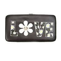Daisy Love Hardcase Wallet Black, White, Yellow -