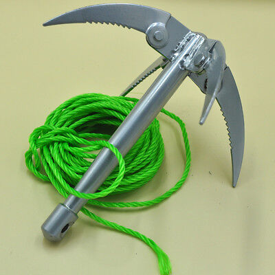 Ninja Grappling Hook Ninjutsu Folding Wall Anchor Rock Climbing Tool Tactical