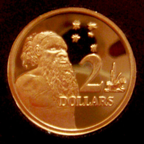 Australia 1989 $2 Aborigine /& Southern Cross PROOF EX SET
