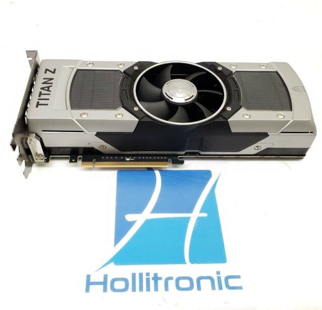 EVGA NVIDIA GeForce GTX TITAN Z 12G-P4-3990-KR 12GB Dual GPU Video Card