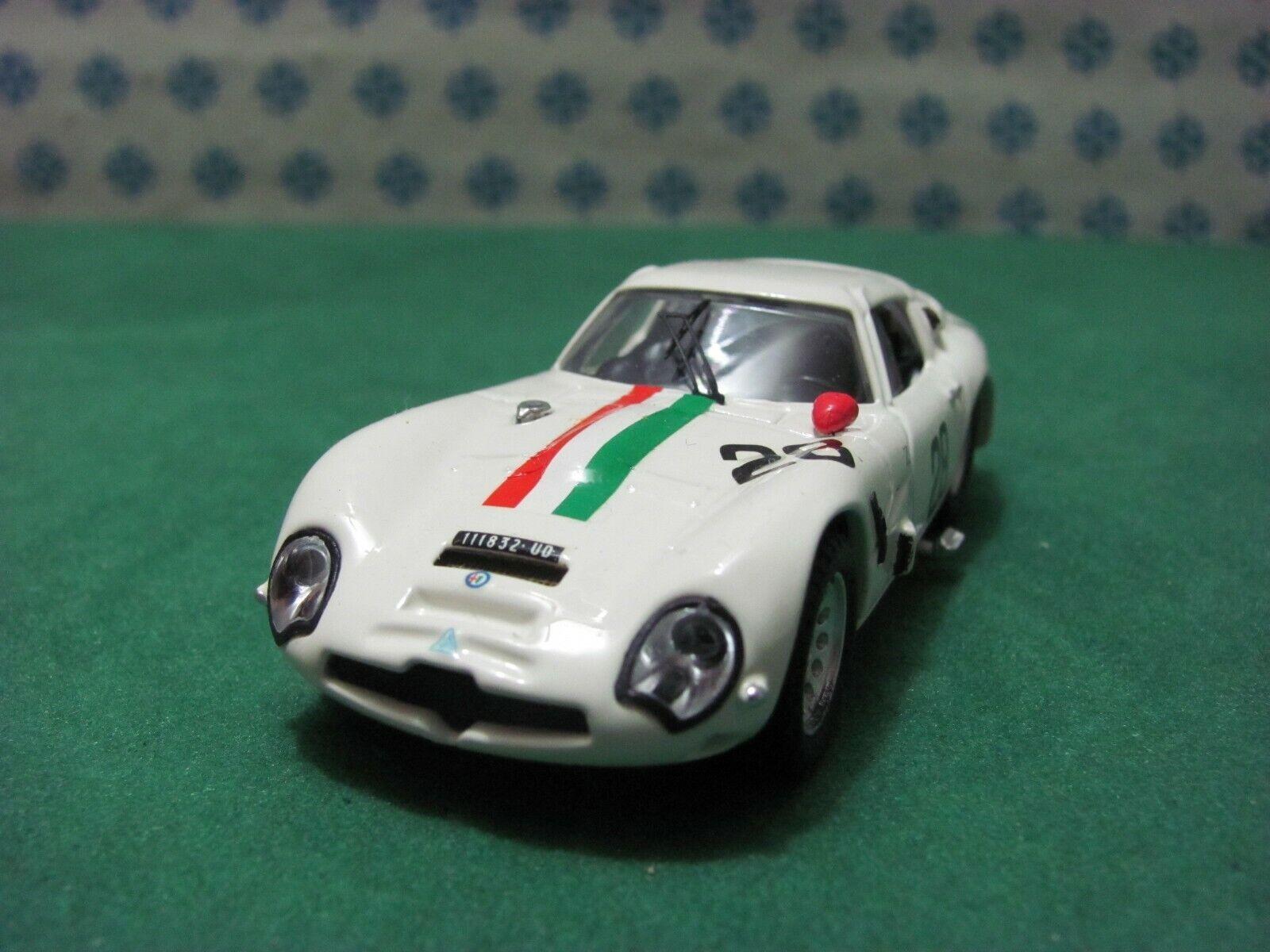 ALFA ROMEO Giulia TZ 2  Zagato coupè 1600  Monza 1967   - 1 43 Best 9118