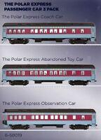 Lionel Ho Scale 6-58019 Polar Express 3 Car Set In Box