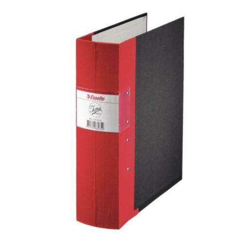 B-WARE 3er Set Esselte Jopa Aktenordner Ordner A4 robust Ringbuch rot schwarz