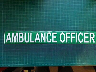 Ambulance Officer Magnet Magnetic Rescue Ambulance Paramedic Medic Community x 1