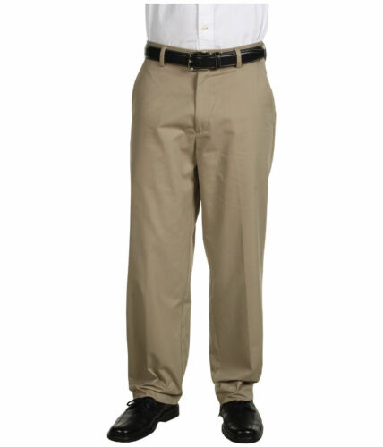 "52/"" 56/"" Waist Dockers Signature Khaki Classic Fit Cotton Trousers 32/"" Leg"