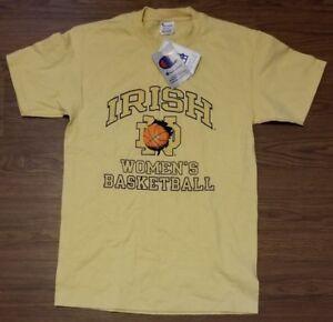 fc0fa77bc71b Vintage Champion Notre Dame Womens Basketball Tee T Shirt Medium M ...