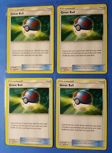 Shining Legends 60//73 Reverse Foil - Uncommon Trainer Great Ball